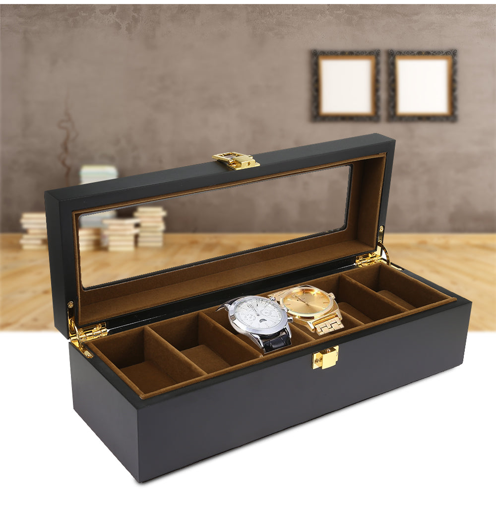 Luxury Wooden Watch Display Box