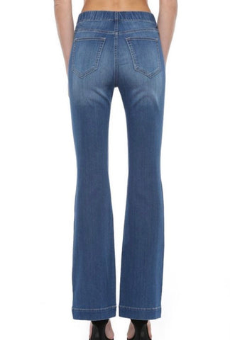 High Rise Flare Jegging