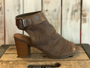 Taupe Open Toed Botties
