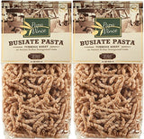 Papa Vince Low Gluten Clean Pasta Sensitive Stomach Made with Tumminia Flour from Sicily, Italy | High Fiber, Sugar Free, Non GMO | decreases Food Intolerance & intestinal Disorders | 1 lb (2-Pack)