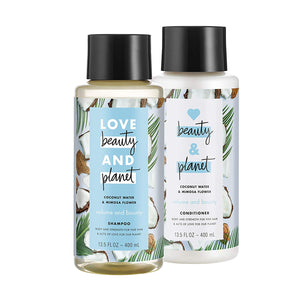 Love Beauty And Planet Volumizing Shampoo and Conditioner