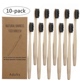 10Pcs Toothbrush Eco-Friendly Biodegradable Toothbrush