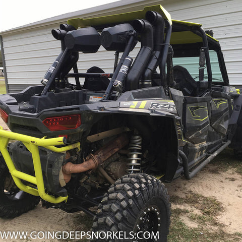 Polaris RZR 1000 XP (2015-2019) Snorkel Kit - Goingdeepsnorkels.com