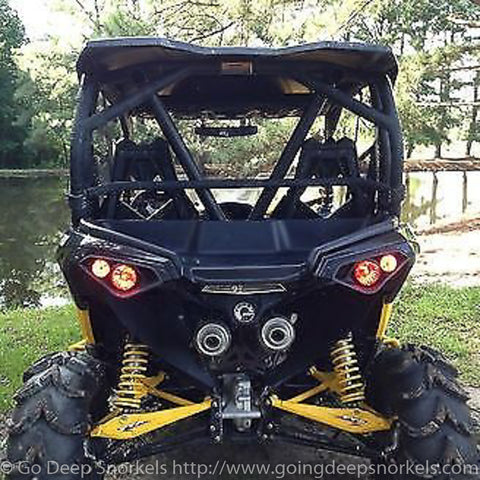 Can Am Maverick 1000 (2013) Snorkel Kit - WWW.GOINGDEEPSNORKELS.COM