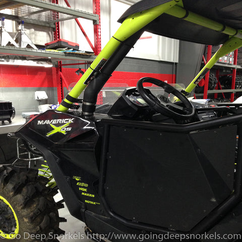 Can Am Maverick Turbo 1000 (2015-2018) Snorkel Kit - WWW.GOINGDEEPSNORKELS.COM