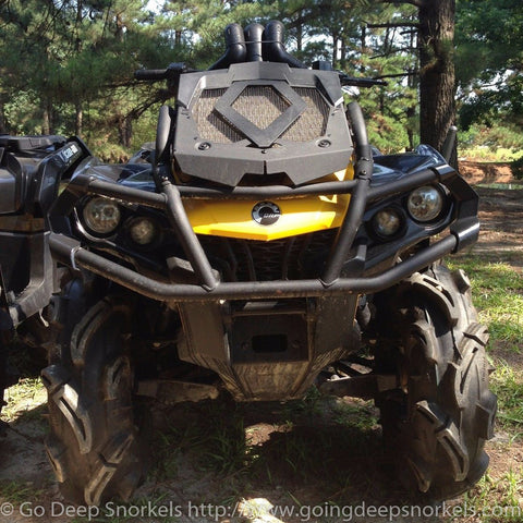 Can Am Outlander XMR 570/650/800/850/1000 Snorkel Kit (2012-2021) - WWW.GOINGDEEPSNORKELS.COM