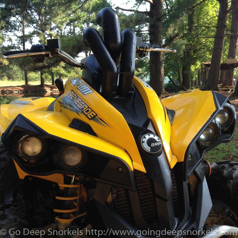 Can Am Renegade 500/800 (2007-2011) Snorkel Kit - WWW.GOINGDEEPSNORKELS.COM
