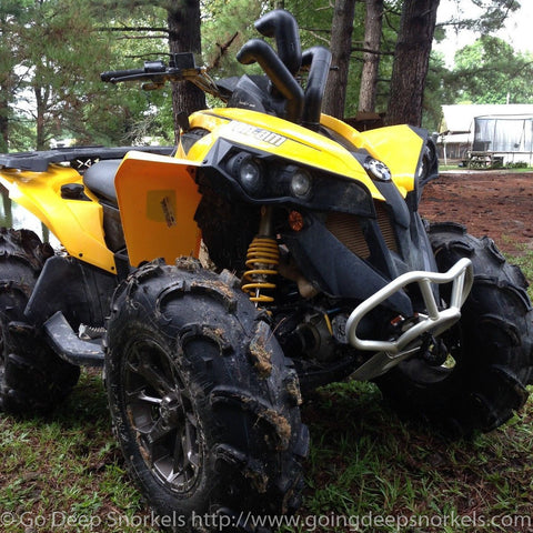 Can Am Renegade 800/1000 (2012-2019) Snorkel Kit - Goingdeepsnorkels.com