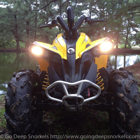 Can Am Renegade 800/1000 (2012-2019) Snorkel Kit - WWW.GOINGDEEPSNORKELS.COM