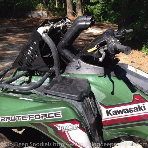 Kawasaki Brute Force 750i Snorkel Kit (2012-2018) - Goingdeepsnorkels.com
