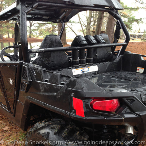 Polaris RZR 570 (2012-2016) Snorkel Kit - Goingdeepsnorkels.com