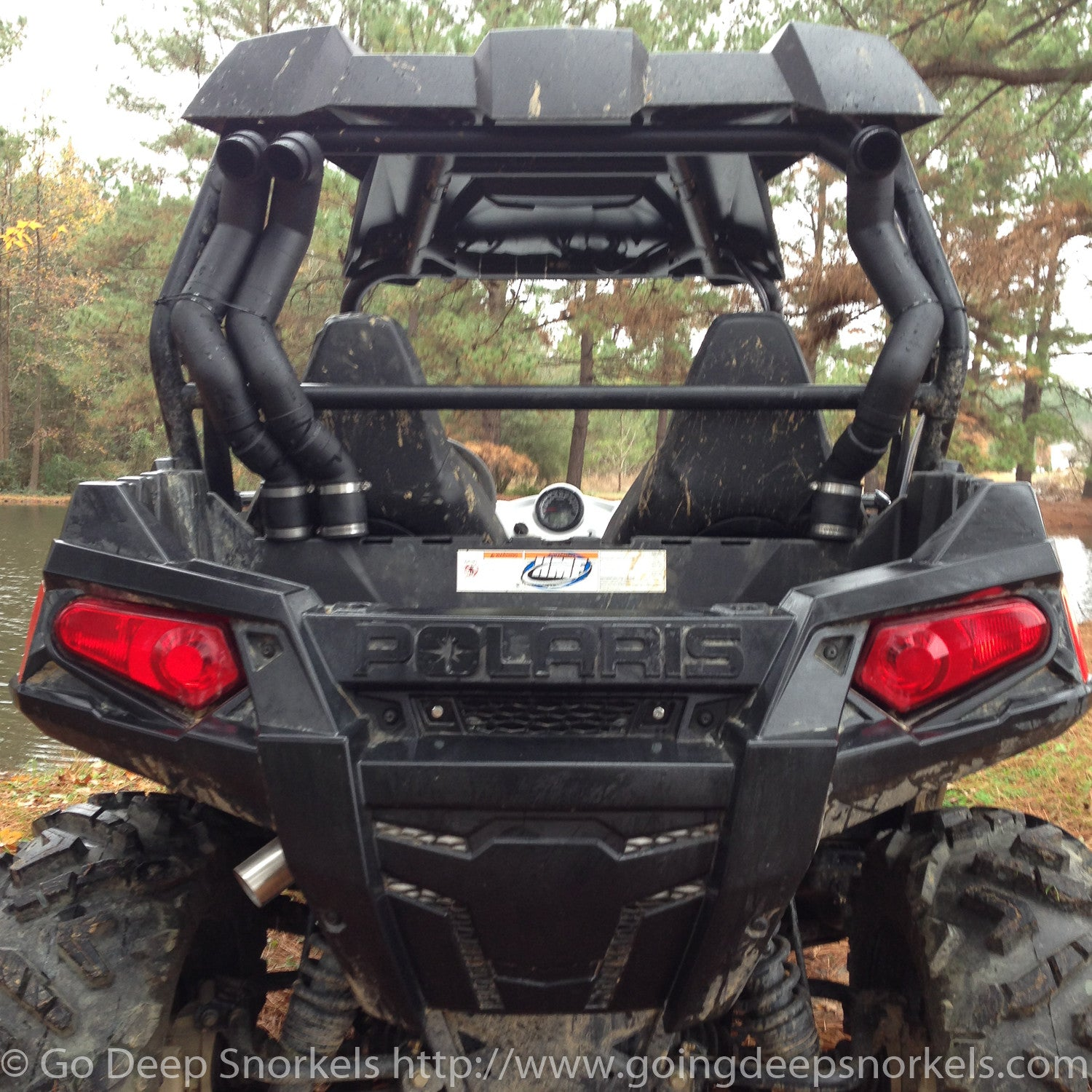 polaris rzr snorkel instructions