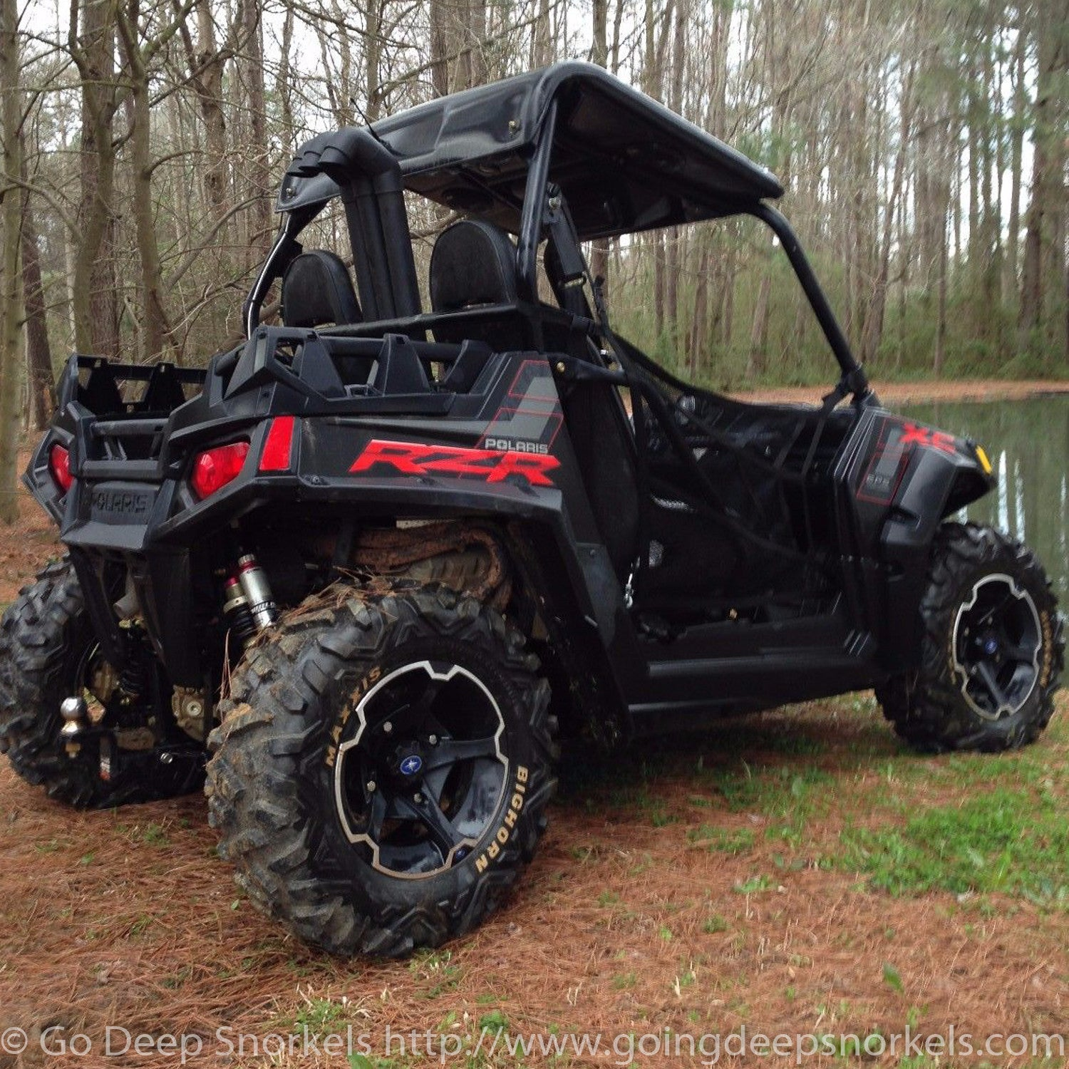 polaris rzr 800 2008 2014 tall stacks snorkel kit go. Black Bedroom Furniture Sets. Home Design Ideas