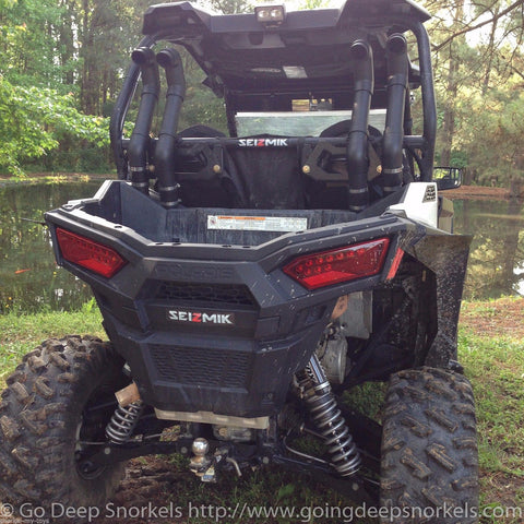 Polaris RZR 900 (2015-2018) Snorkel Kit (Side Mounted) - Goingdeepsnorkels.com