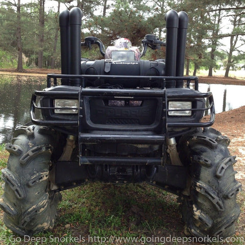 Polaris Sportsman 400/500/600/700/800 (2000-2014) Snorkel Kit - WWW.GOINGDEEPSNORKELS.COM