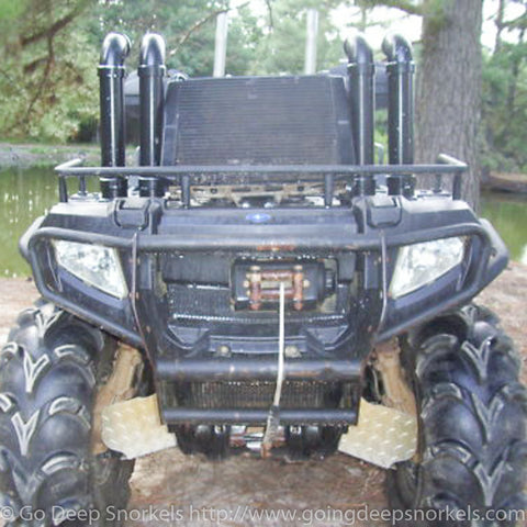 Polaris Sportsman 400/500/600/700/800 (2000-2014) Snorkel Kit - Goingdeepsnorkels.com