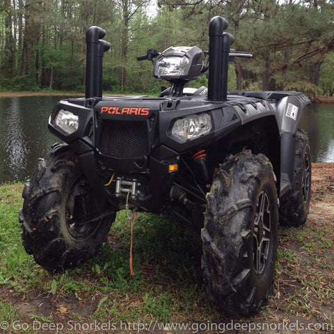 Polaris Sportsman 550/850 Snorkel Kit (2009-2016) - Goingdeepsnorkels.com