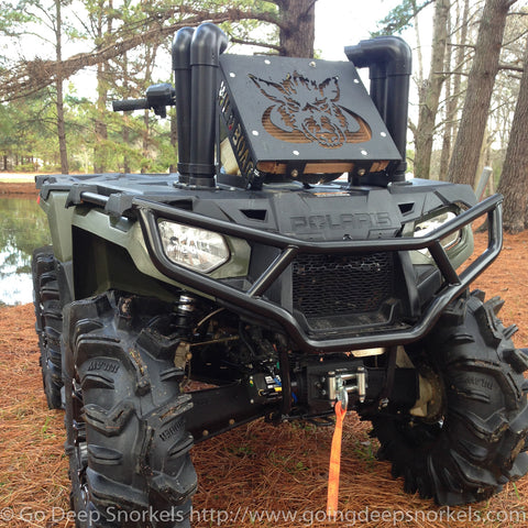 Polaris Sportsman 570 (2014-2020) Snorkel Kit - Goingdeepsnorkels.com