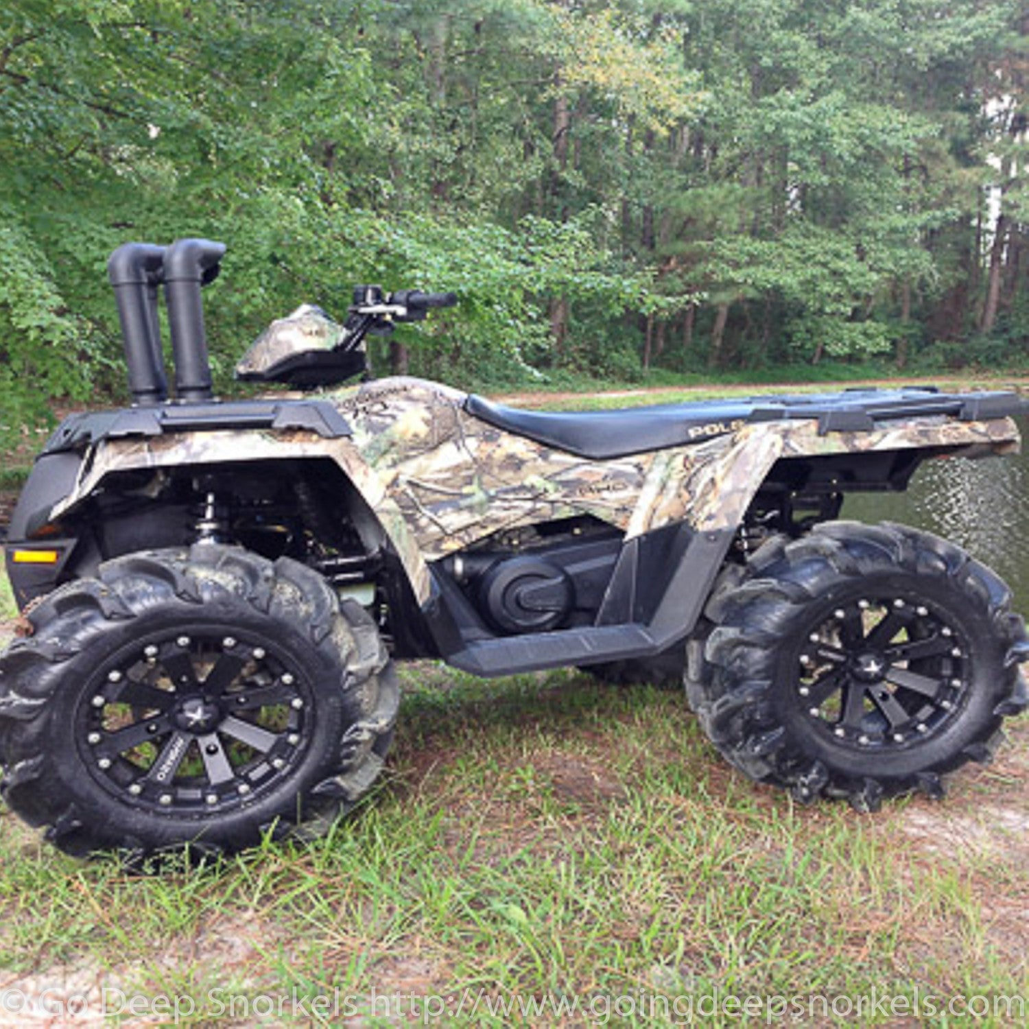 polaris sportsman 570 2014 2018 snorkel kit go deep. Black Bedroom Furniture Sets. Home Design Ideas