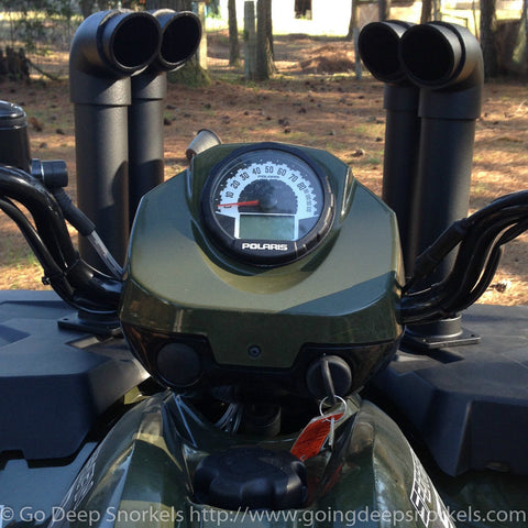 Polaris Sportsman 570 (2014-2019) Snorkel Kit - Go Deep Snorkels