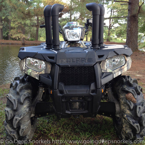 Polaris Sportsman 570 (2014-2021) Snorkel Kit - WWW.GOINGDEEPSNORKELS.COM