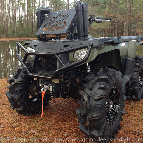 Polaris Sportsman 450/ETX Snorkel Kit - WWW.GOINGDEEPSNORKELS.COM