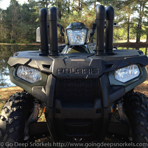 Polaris Sportsman 450/ETX Snorkel Kit - Goingdeepsnorkels.com