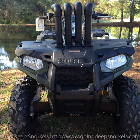 Polaris Sportsman ETX / 450 Snorkel Kit - Goingdeepsnorkels.com