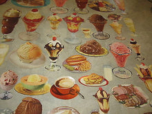 HUGE Lot of 70 Old Vintage 1950's Ice Cream SODA FOUNTAIN / DINER Paper DIECUTS
