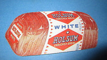 Old Vintage - HOLSUM BREAD - Figural Business / Advertising Card