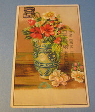 Old 1880's KLINE & HOCH - New Berlin PA. Trade Card - Burdock BLOOD BITTERS