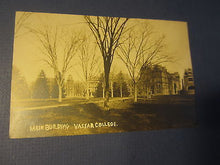 Old c.1910 - VASSAR COLLEGE - Main Building - RPPC Real Photo POSTCARD - N.Y.