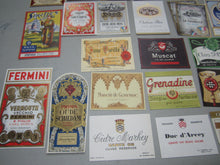 HUGE WHOLESALE Lot of 1,000 Old 1930's-50s - European WINE & LIQUOR LABELS