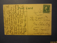 Old Vintage 1914 EAGLES MERE PA. - On the Mountain Top - POSTCARD - Pennsylvania