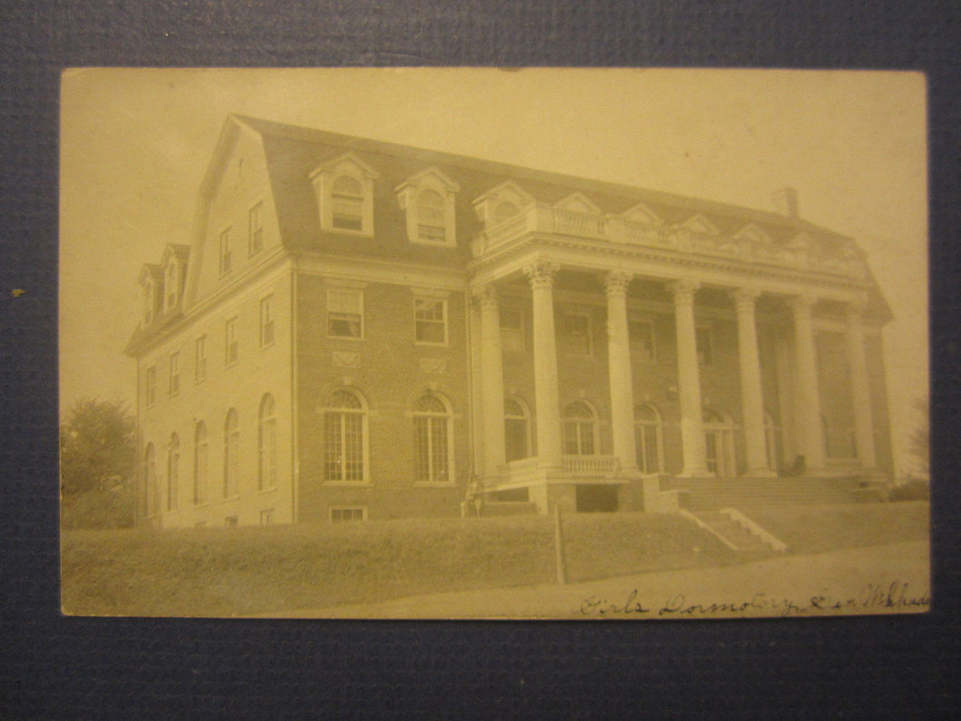 Old c.1905 Susquehanna University - SEIBERT  Selinsgrove PA. RPPC Photo POSTCARD