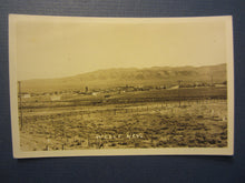 Old Vintage - WELLS - NEVADA - Town View - RPPC Real Photo POSTCARD