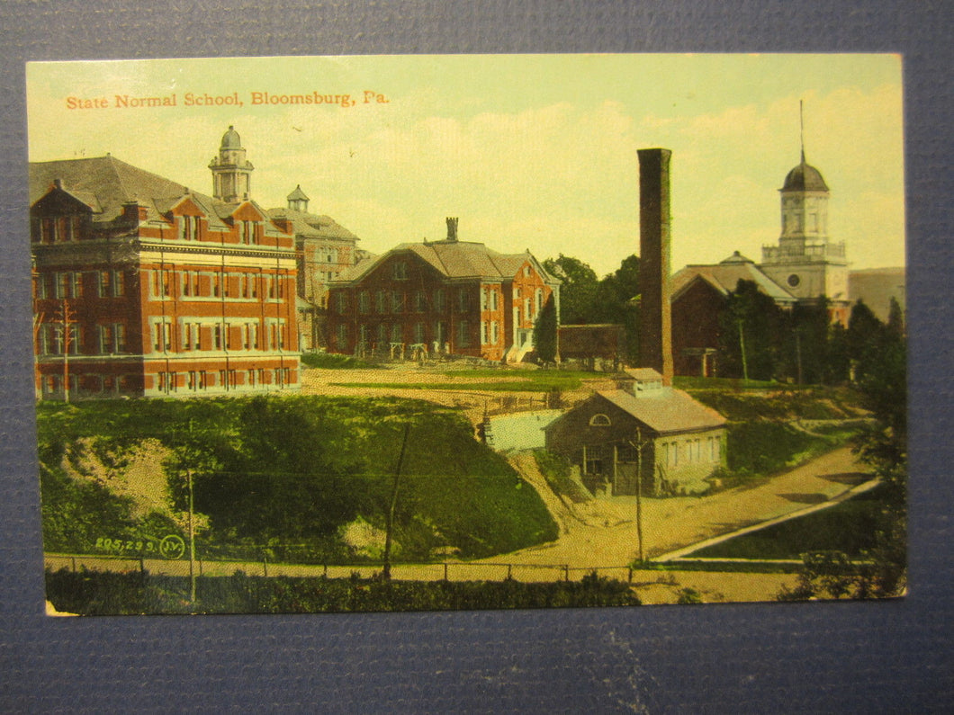 Old 1915 - BLOOMSBURG PA. State Normal School - COLLEGE / University POSTCARD