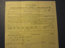 1897 PENNSYLVANIA Railroad Shipping Document - EAST LIVERPOOL POTTERY Co. - OHIO