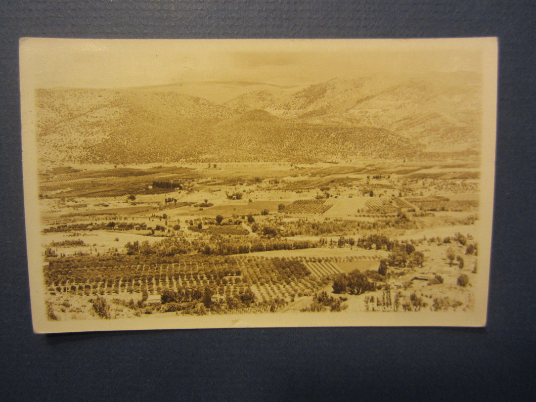 Old Vintage 1928 - PAONIA COLORADO - RPPC - Real Photo POSTCARD