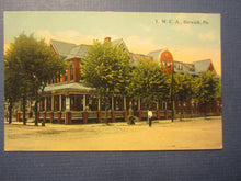 Old c.1910 - BERWICK PA. - YMCA Building - POSTCARD