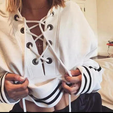 Women's Fashion Crop Top Hoodie