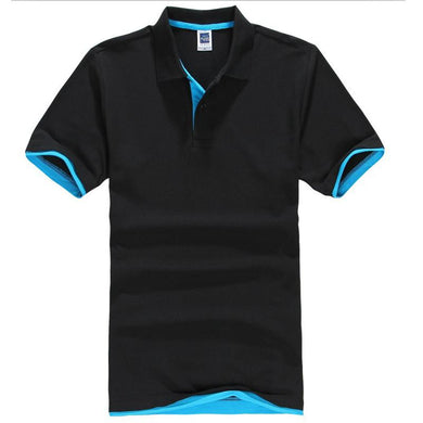 Turn Down Collar Summer Casual Men's Polo Shirt Assorted Colors Size XS-XXXL - Hamarini2