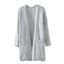 Womens Knitted Cardigan - Cardigans