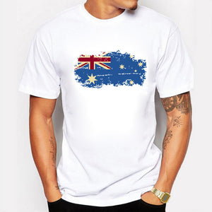 Australia Flag T shirts 100% Cotton