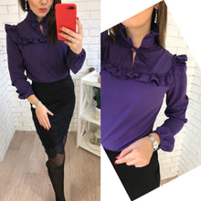 Lantern Sleeve Casual Top $17.80 - Blouses & Shirts