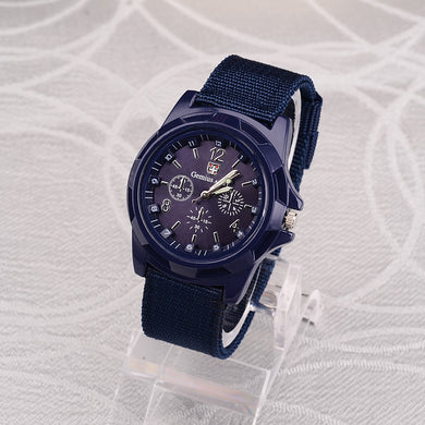 Mens Military Watch $22 - Blue - Quartz Watches