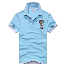 Just Do It Polo Shirt - Light Blue / Xs - Polo