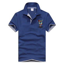 Just Do It Polo Shirt - Navy Blue Gray / Xs - Polo