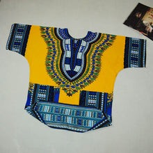 Classic Dashiki Tops - Yellow / One Size - Africa Clothing