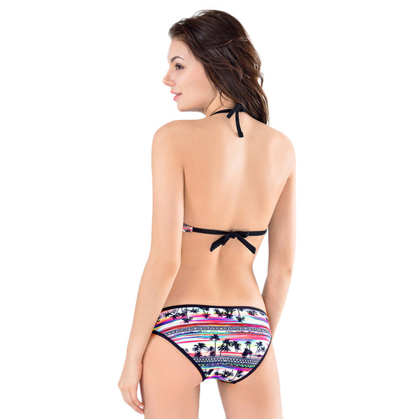 Halter Bikini 2 Piece Swimsuit
